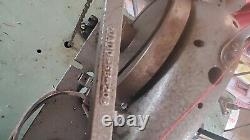 1968 Singer industrial sewing machine. Was used to make heavy duty cargo straps