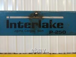 1995 Interlake Akebono Model #ts-250 Automatic Strapping Machine Ybm #13649