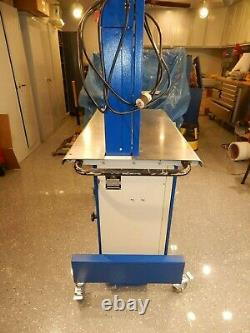 1998 Mosca ROMP-2 auto strapping machine with 31.5 x 15.7 arch, 5mm strap
