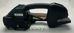 1/2 5/8 Signode BXT3-16 Strapping Tool withStrapping, Cart, Charger and Battery