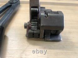 1/2 Banding Tensioner- Sealer Crimper Strapping Tool LOT KIT Banding and Seals