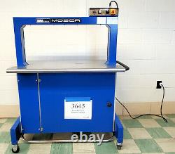 2001 EAM-Mosca RO-M-P2 400x800 5mm Automatic Strapping Machine Inventory #3645