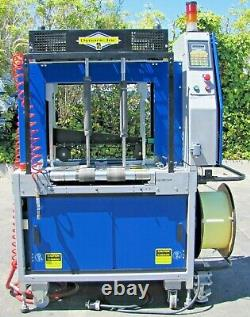 2003 Dynaric NP-3000 Automatic High Speed Strapping Machine Plastic Banding Band