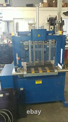 2007 MOSCA STRAPPER AUTOMATIC INLINE PACKAGING MODEL RO-TRP-4. Free Loading