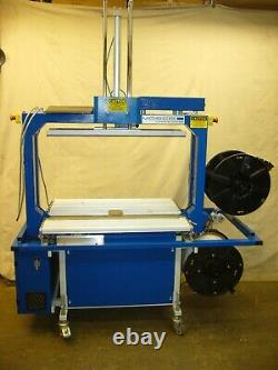 2007 Mosca TRC-3 with 36 x 25 arch, comp bar, dual dispensers, set for 5mm strap