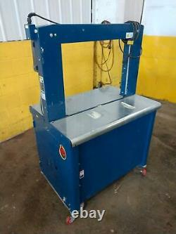 25.5 X 19.5 Polychem Model Pc1000 Plastic Strapping Systems Banding Machine S