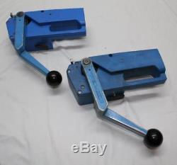 2x Umreifungsgerät Bindemaschine Cyklop Mobil 300 Akku und Ladegerät CSS15 Kress