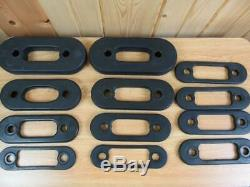400lbs SOLOFLEX EXCERCISE MACHINE EQUIPMENT WEIGHT STRAPS BANDS EXCELLENT
