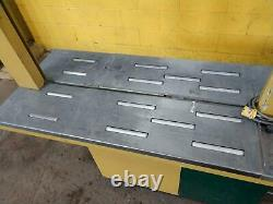 41 X 23.5 Strapack #rq-8 Automatic Plastic Strapping Machine Ybm #14536