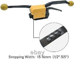 A333 Manual Steel Strapping Tool Buckle Free Sealless Steel Strapping Machine