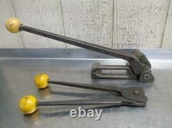ACME 3/8 to 1 Steel Strapping Banding Tensioner ACME C2A3 3/8 Crimper Sealer