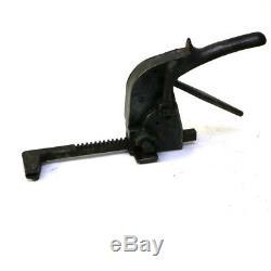 AJ Gerrard & Co 1902D Vintage Steel Strapping Tool Pistol Grip