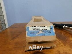 A J Gerrard Steelbinder 101 Model Strapping Tool Tensioner Unused with Box
