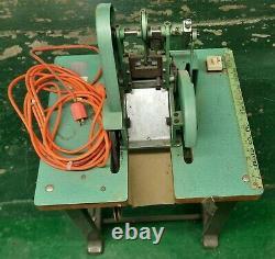 Ace Vintage Industrial Strip Webbing Strap Cutter Cutting Machine