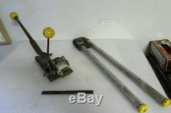 Acme Steel B5E10 Banding Tool withAcme C6F650-126 Strapping Crimper Tool 3/4