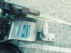 Acme Steel Co a15a4 -938 Tools Banding racket. Crimper
