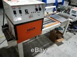 BELCO STC-2016 L bar Sealer with Tunnel