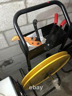 Banding Cart, Plastic Band Tensioner, Crimping Tool