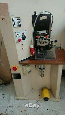 Belt / guitar / strap leather embosser pattern wheel roller printing Machine