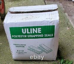 Box Strapping Cart Uline used includes strapping, Tool and clips