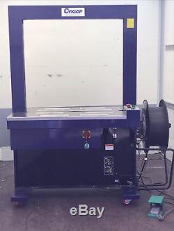 CYKLOP CD80 automatische Umreifungsmaschine Strapping Machine Plastikband Umreif