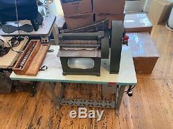Campbell Bosworth (Randall) Leather Strap Cutting Machine Cutter Comogi Weaver