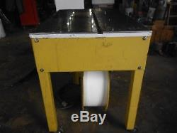 DYNARIC SM-65 STRAPPING MACHINE With 2 EXTRA ROLLS OF BANDING