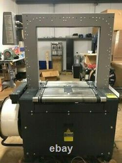 Dynaric N3400A Fully Automatic Strapping Machine Very Good Condition