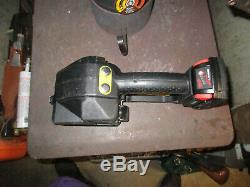 FROMM P-329 18V battery strapping tool orgapack signode with battery