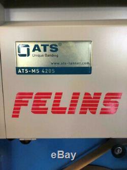 Felins ATS-MS Jumbo 420S Heat Seal Banding Machine w Jumbo Dispenser NEVER USED