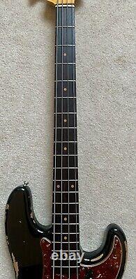 Fender Custom Shop 2019 Heavy Relic 1960 Precision Bass Time Machine Aged Black