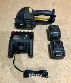 Fromm P329 (43.2532) 19mm/ 3/4 Battery Powered Strap Tool with Battery & Charger