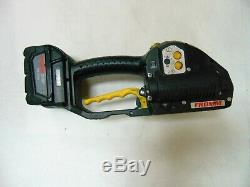 Fromm P329 Battery Powered Plastic Strapping Tool and Battery