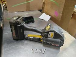 Fromm P331 Battery Strapping Tool for Plastic Strapping with Battery Included