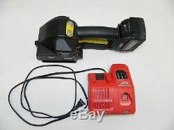 Fromm Pallet Strapping Strapper Model P329 5/8 with Battery & Milwaukee Charger