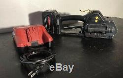 Fromm Strapper Model P330 1 28v Battery X1 Banding Tool