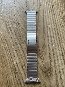 Genuine Apple Stainless Steel Machined Link Bracelet Watch Strap 38mm or 40mm