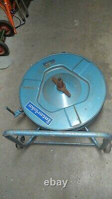 Interlake Strapping Banding Dispenser Steel Band Plastic Band Blue Steel Cart