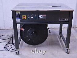 Joinpack ES-102A / Polychem PC102 Semi-Auto Bottom Seal Strapping Machine 110V