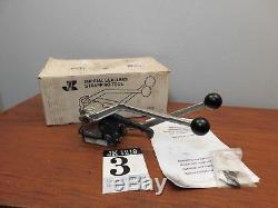 Josef Kihlberg JK1219 Manual Sealless Banding Strapping Tool Still In Box