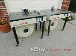 Last One! STRAPACK Semi Automatic Strapping Machine, Model D-53X2