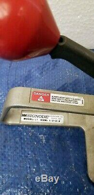 Left Handed Signode LT Steel Strapping Tool 5A429 1/2 3/4 LT Tensioner