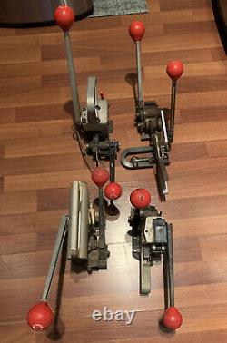 Lot Of 4 SIGNODE Strapping Tools