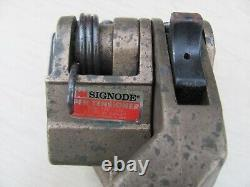 Lot of SIGNODE Strapping Tools-3/4-1 1/4 Tensioner-3/4 Sealer-H. K. Porter Cutter