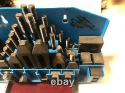 MACHINIST TOOLS LATHE MILL Machinist Milling Hold Down Set Up Strap Set OfCe