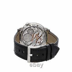 MB&F Legacy Machine 101 LE Manual 40mm Platinum Mens Strap Watch 51. PL. W