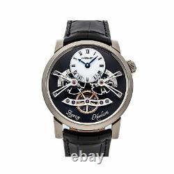 MB&F Legacy Machine No. 2 LE Manual White Gold Mens Strap Watch 02. WL. W