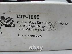 MIP-100 Pusher Rack Steel Strap Tensioner