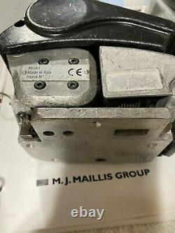 M. J. MAILLIS Battery pallet Strapping Tool with 2 Batteries & Charger