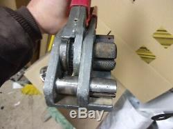 Manual Plastic Poly Strapping Strap Band Pallet Tensioner 3/4 5/8 Signode